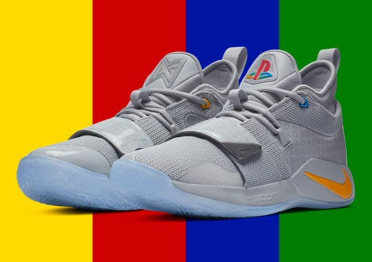 "Official Images Of The Nike PG 2.5 ""Playstation"""