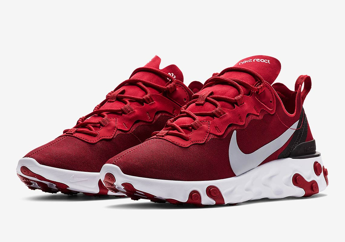 Nike React Element 55 Red Official Release Info