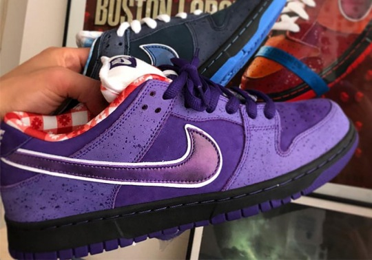 """Concepts To Release A Nike SB Dunk """"Purple Lobster"""" In December"""
