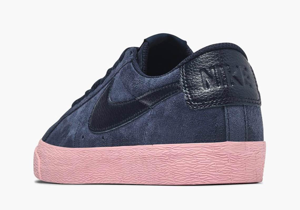 Nike SB Blazer Low Navy + Pink Store