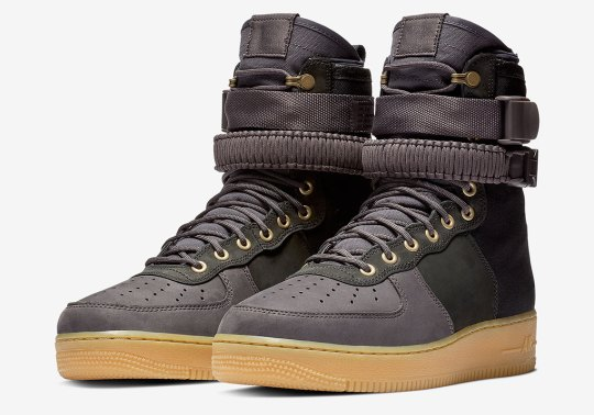 Another Sherpa-Lined Nike SF-AF1 High Is Coming In Thunder Blue