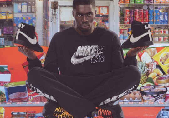 Sheck Wes And Nike Debut The NYC Editions With The Air Max 95 And Blazer