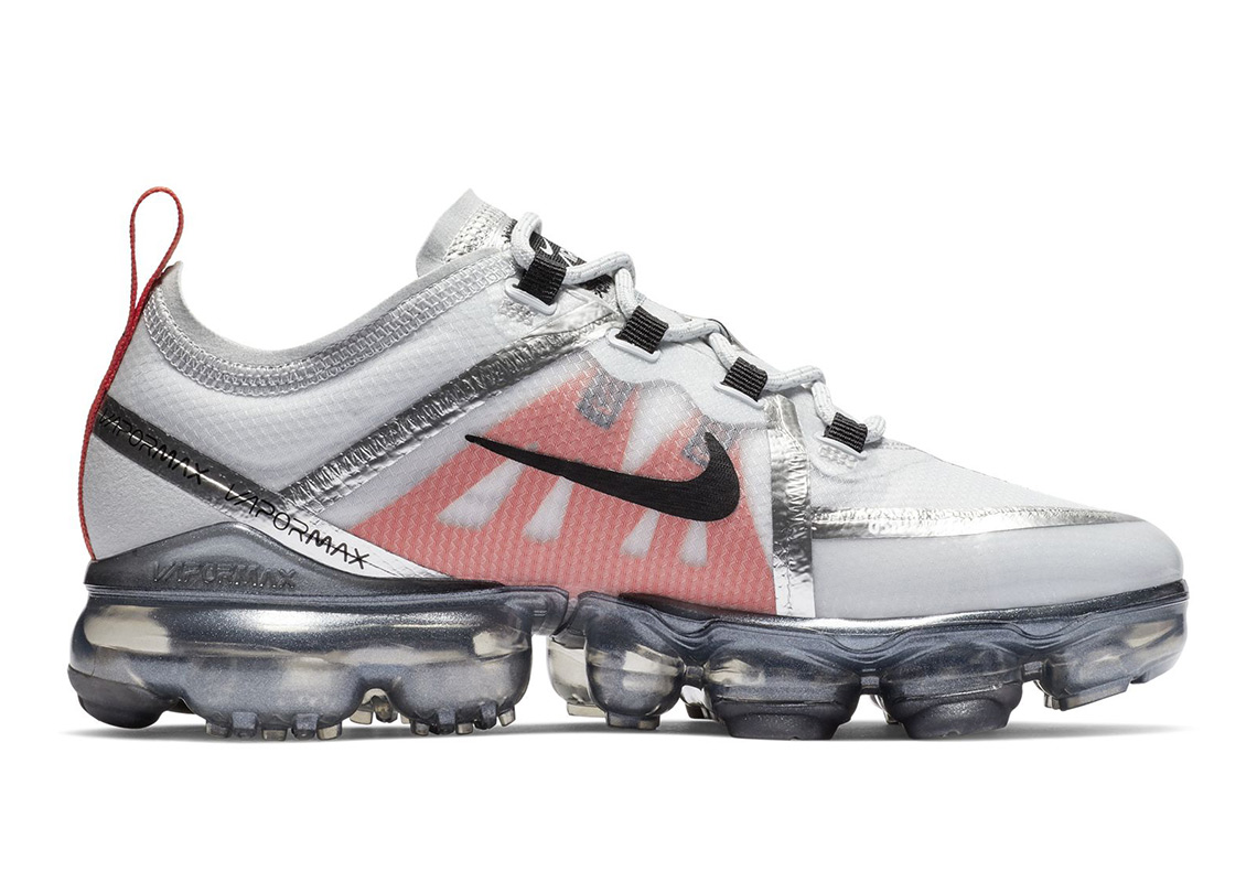 acdb4d625ae0 Nike Vapormax 2019 Silver Bullet GS Release Info