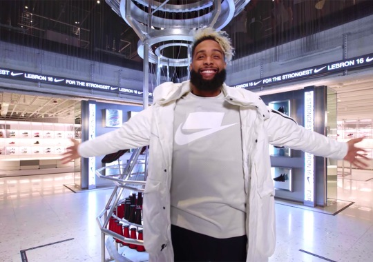 Here's What Odell Beckham Jr. Bought At The New Nike NYC Store