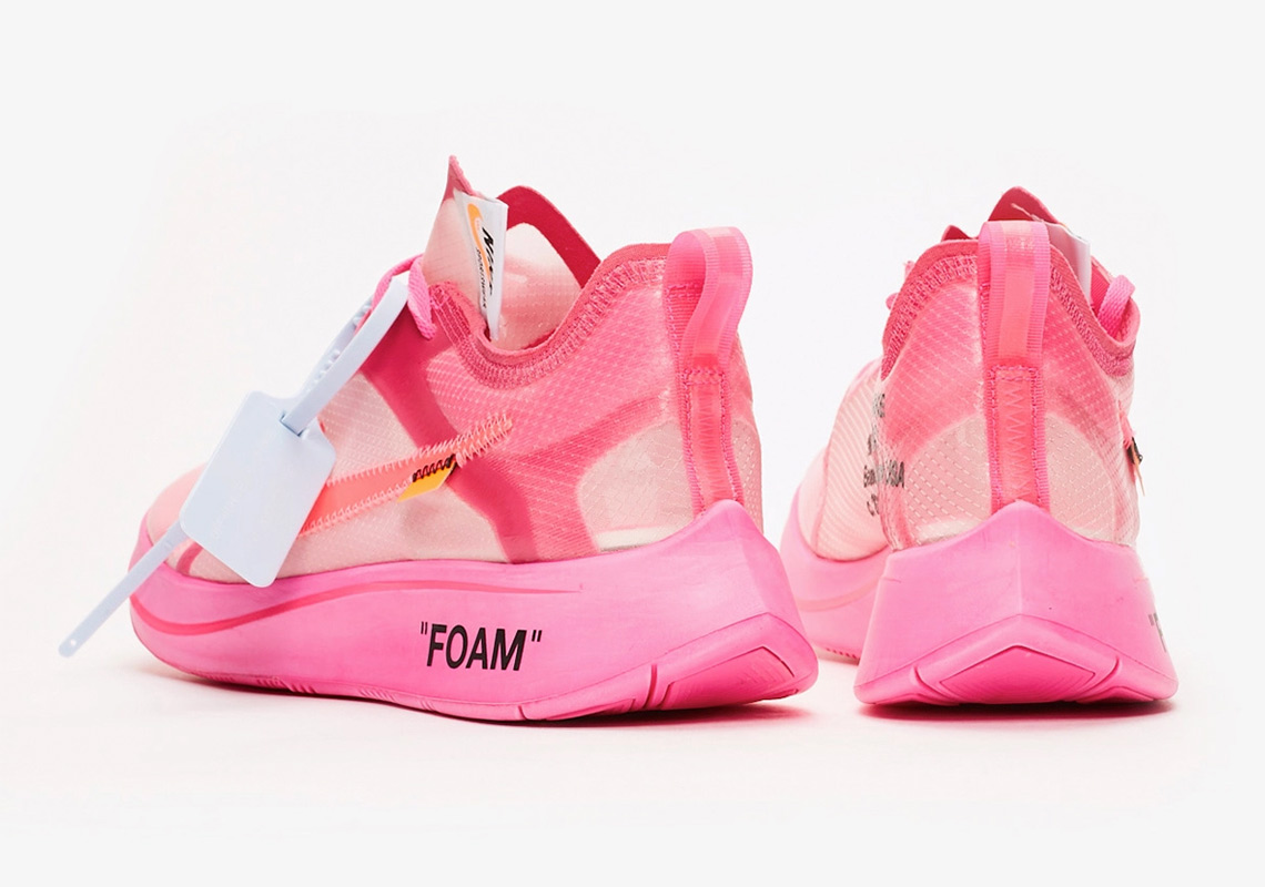 070f5d58c294b Where To Buy Off White Nike Zoom Fly Tulip Pink Racer Pink ...