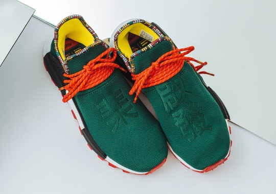 "adidas Originals Is Dropping An Asia-Exclusive NMD Hu ""Inspiration"" In Green"