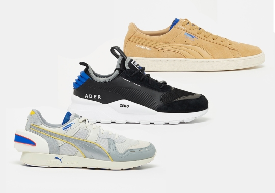Puma And Ader Error Reissue The RS-100, RS-0, and Suede