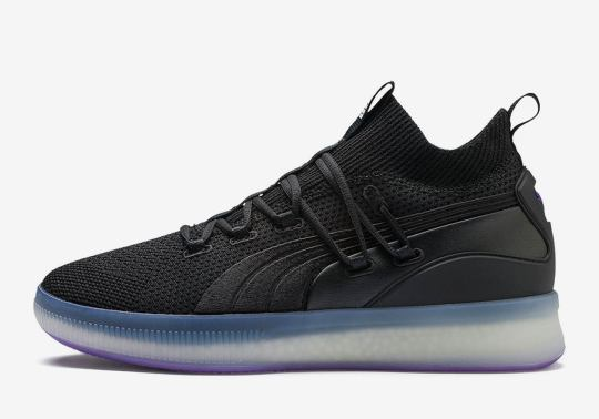 """Puma Adds """"Purple Glow"""" To The Clyde Court Disrupt"""