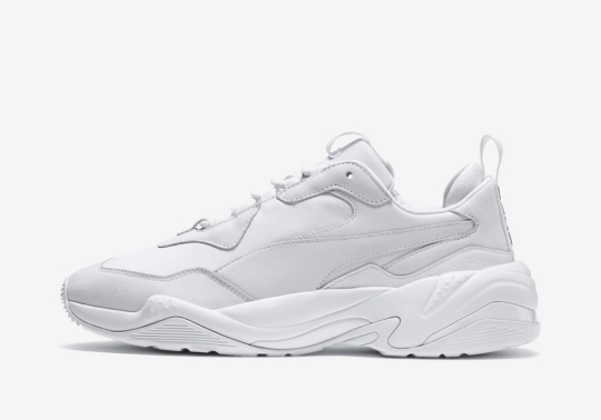 The Puma Thunder Spectra Returns In Triple White And Triple Black