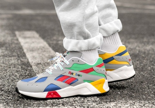 These Reebok Aztreks Are Inspired By A Classic Gaming System