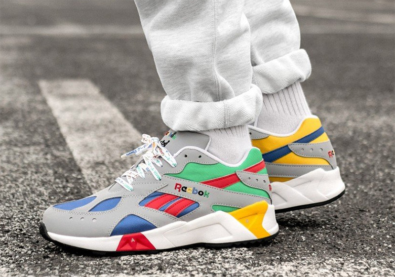 6d401d39edb These Reebok Aztreks Are Inspired By A Classic Gaming System