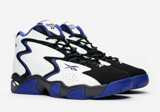 The Reebok Mobius Is Back From The 1990s In A Sporty Purple Color Scheme
