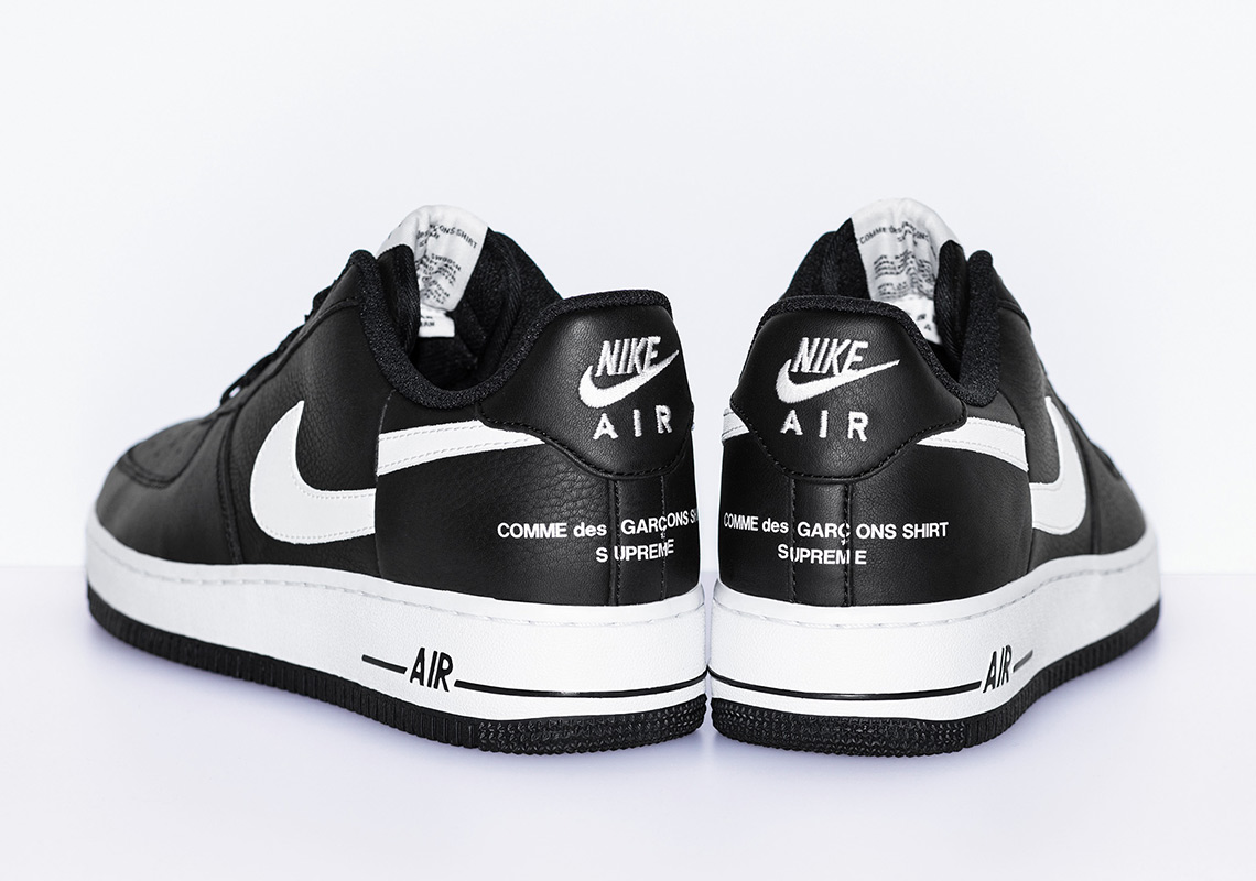 898e15b62529 Supreme CDG Nike Air Force 1 Low Release Info