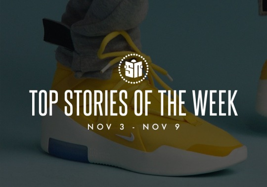 Nike Air Fear Of God 1 In Yellow, Nike's Brand New ISPA Platform, And More