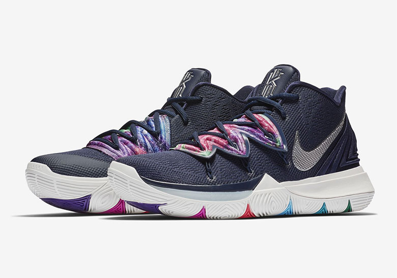 """4f960d9a026 Nike Kyrie 5 """"Multi-Color"""" Is Dropping In Mid-December Kyrie continues to  stake his claim as the NBA's top signature sneaker athlete."""