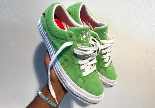 "Tyler, The Creator Teasers Upcoming Converse ""Grinch Le Fleur"" One Star"