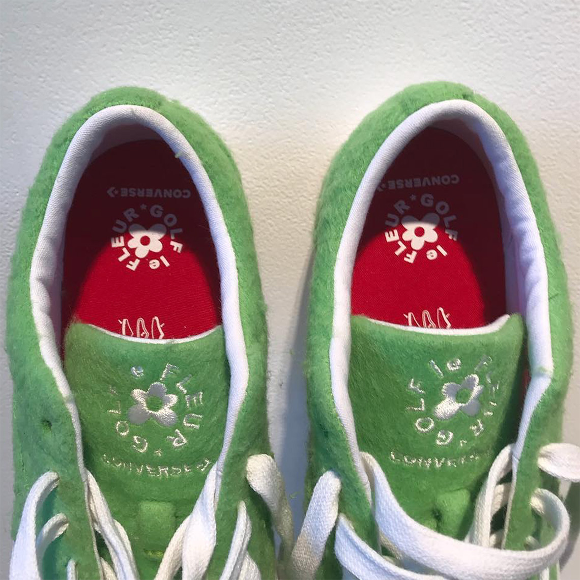 dc591abce92c Tyler The Creator Converse One Star Grinch