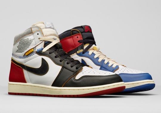 Official Release Information For The Union x Air Jordan 1