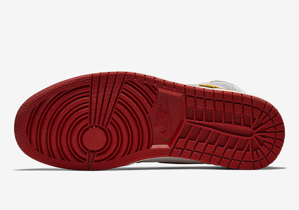 e1db930f0c2b Union Air Jordan 1 Red Black Store List
