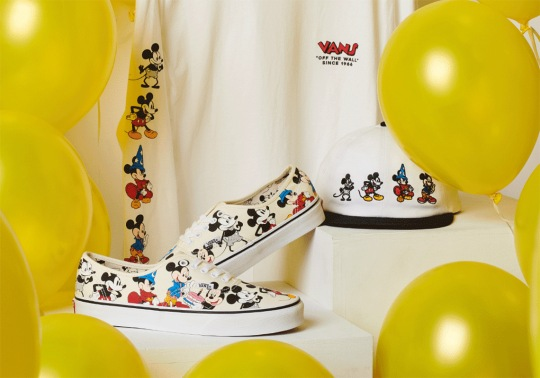 """Vans And Disney Present The """"Mickey Through The Decades"""" Collection"""