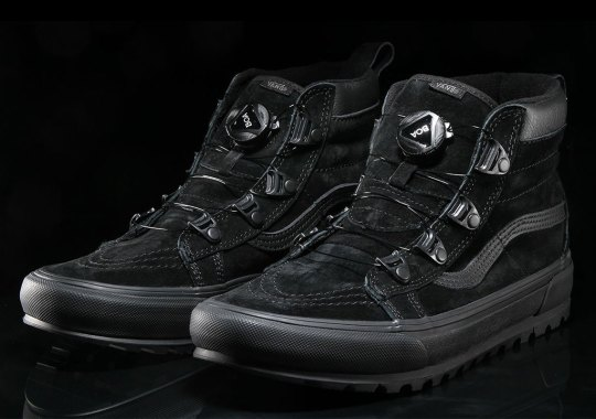 ce1a6d0128 Vans Adds An Adjustable Lockdown Dial To The Sk8-Hi MTE