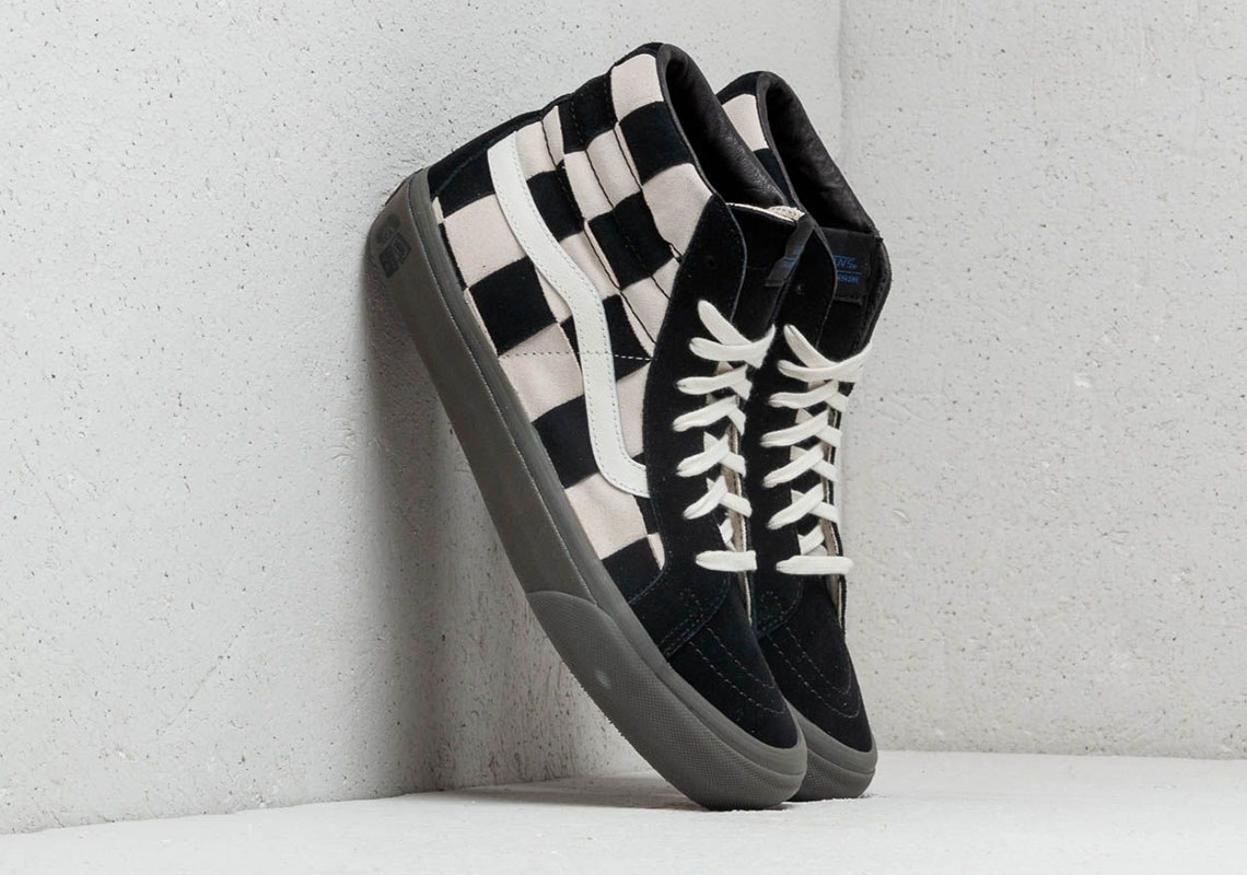 61c9412992 Taka Hayashi Designs A Classic Checkerboard Take On Two Vans Icons