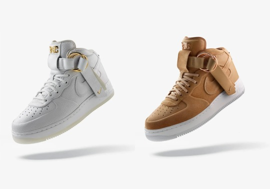 Victor Cruz's Air Force 1s Release 11/21 On Nike SNKRS