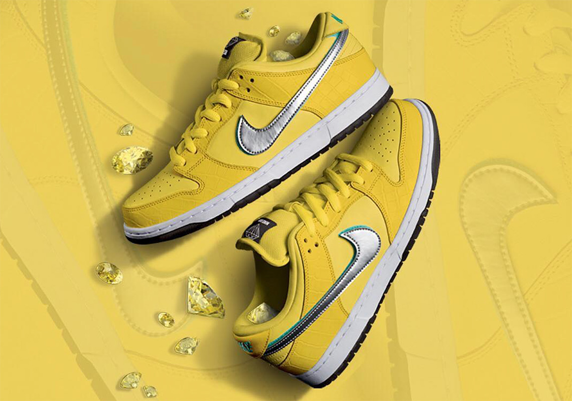 cbe739a473 Yellow Diamond Nike SB Dunk Release Date Info | SneakerNews.com