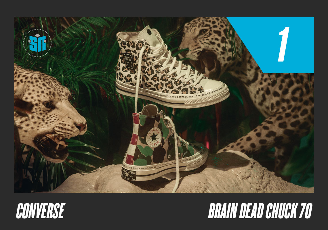ec55bfd33b9f Brain Dead x Converse Chuck 70 LA-based Brain Dead dug deep into the  Converse vaults for a cornucopia of classic prints with which to adorn  their special ...