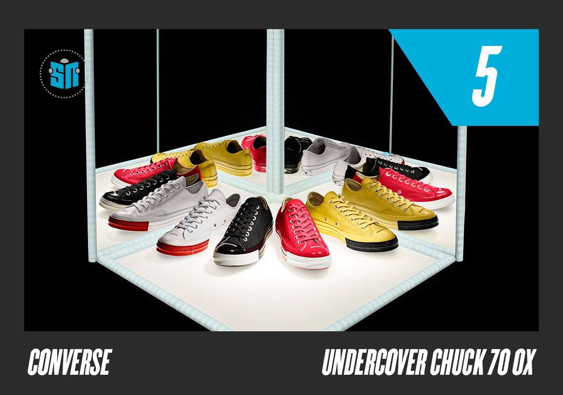 UNDERCOVER x Converse Chuck 70 Ox Jun Takahashi s UNDERCOVER enjoyed a  banner year in 2018 72c76e41e