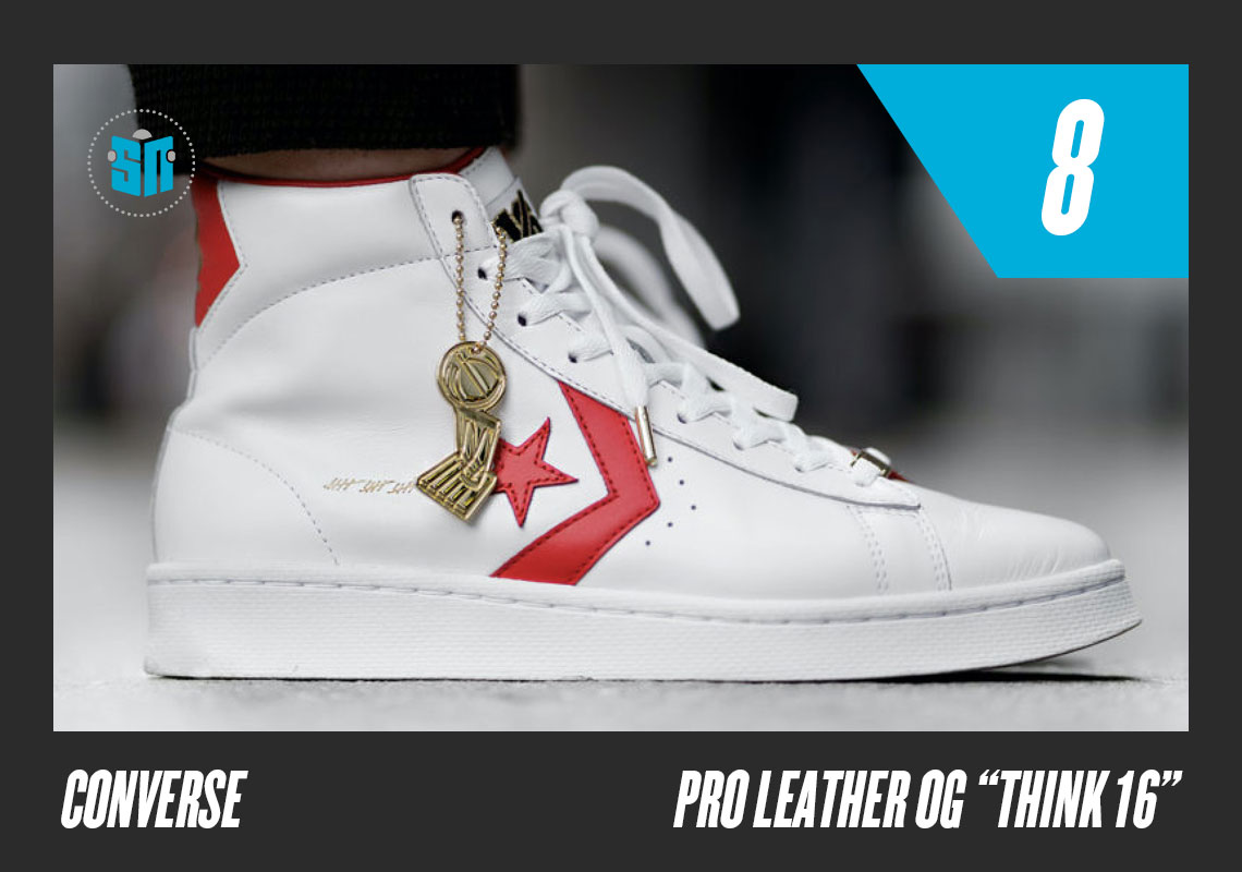 "Converse Pro Leather ""Think 16"" Julius ""Dr. J"" Irving s under-the-backboard  scoop layup is one of the most memorable moves in NBA Playoff History — and  a ... 8251db74b"