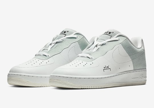 Detailed Look At The White A-COLD-WALL X Nike Air Force 1
