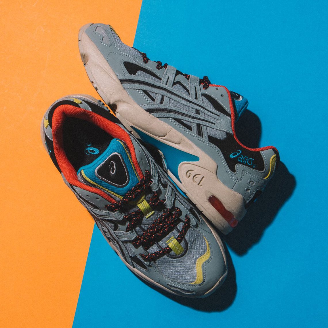 4564717b5aed9d ASICS Gel Kayano 5 Stone Grey Release Info SneakerNews com. ASICS Gel  Kayano 5 Stone. Nike Kyrie 4 ...