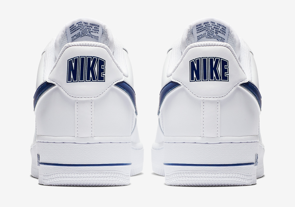 low priced 5f522 7b58d newest 43591 3ad35 Nike Adds Some Classic College Hoops Vibes To The Air  Force 1