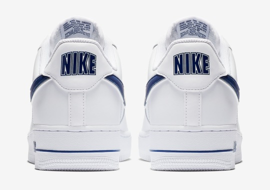 Nike Adds Some Classic College Hoops Vibes To The Air Force 1