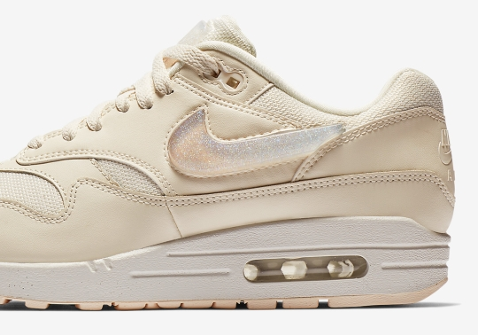 The Nike Air Max 1 Gets Oversized Jewel Swoosh Logos And Tongue Labels