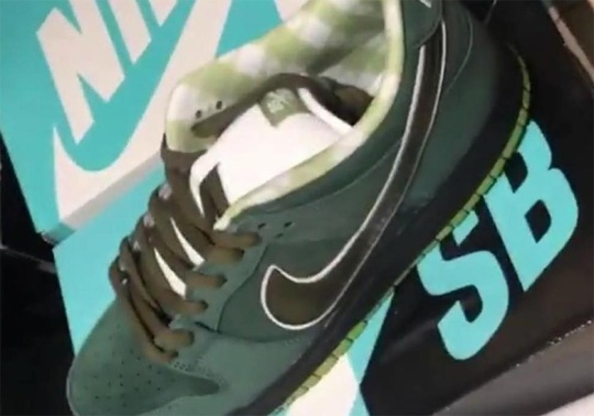 "Concepts Is Releasing A ""Green Lobster"" Nike SB Dunk Low"