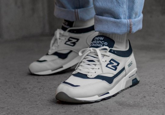 The New Balance 1500 Pays Homage To The White And Navy 624