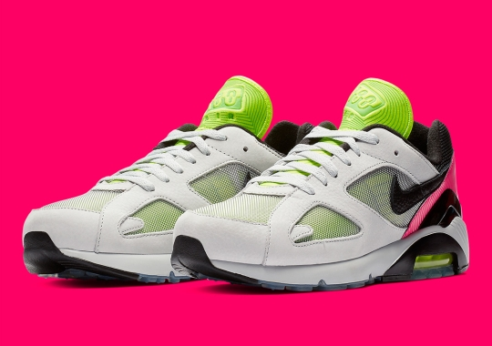 "22a7d12b0 The Nike Air 180 ""Freedom"" Features Wave Patterns On The Upper"