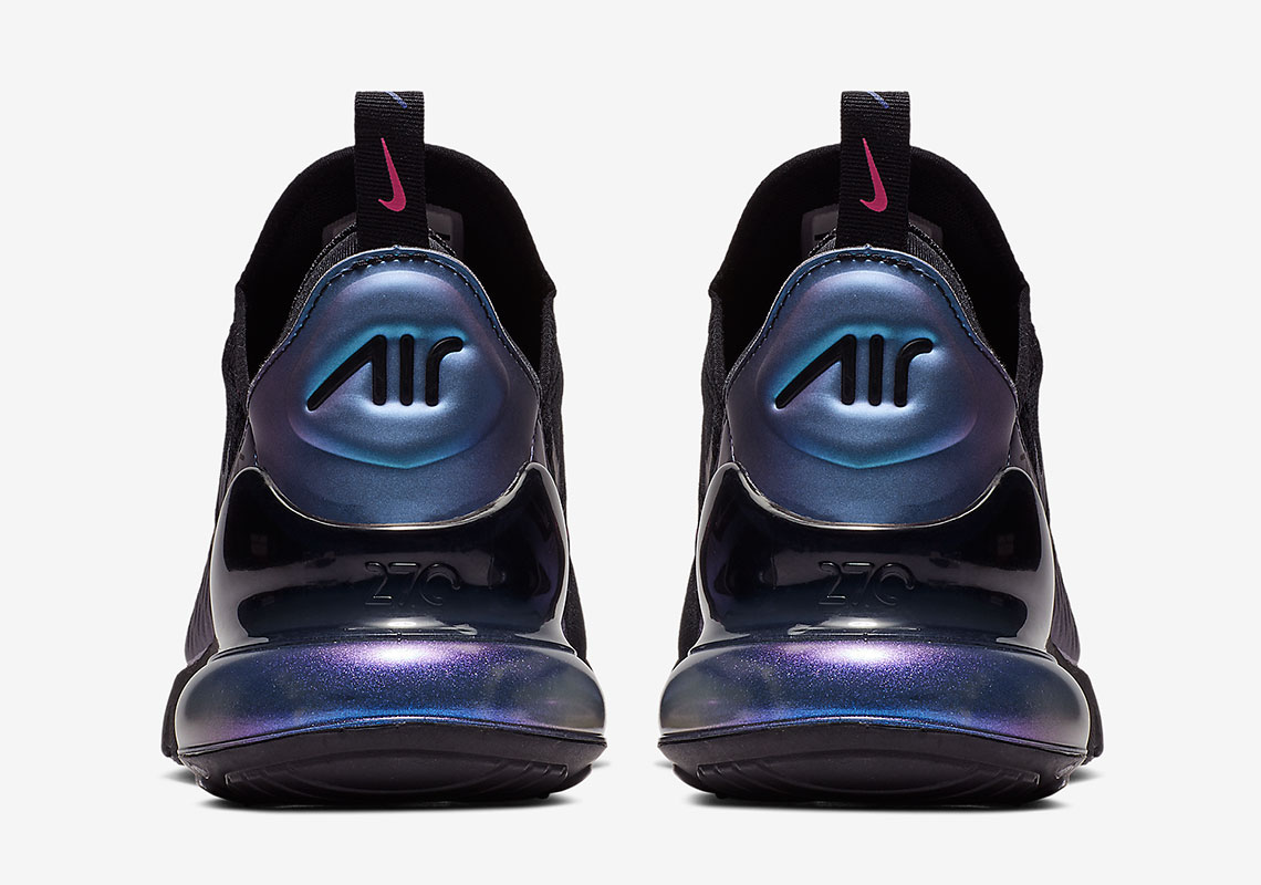36b97a43da Nike Air Max 270. Release Date: March 19th, 2019 $150. Color: Black/Laser  Fuchsia-Regency Purple Style Code: AH8050-020. Advertisement. Advertisement