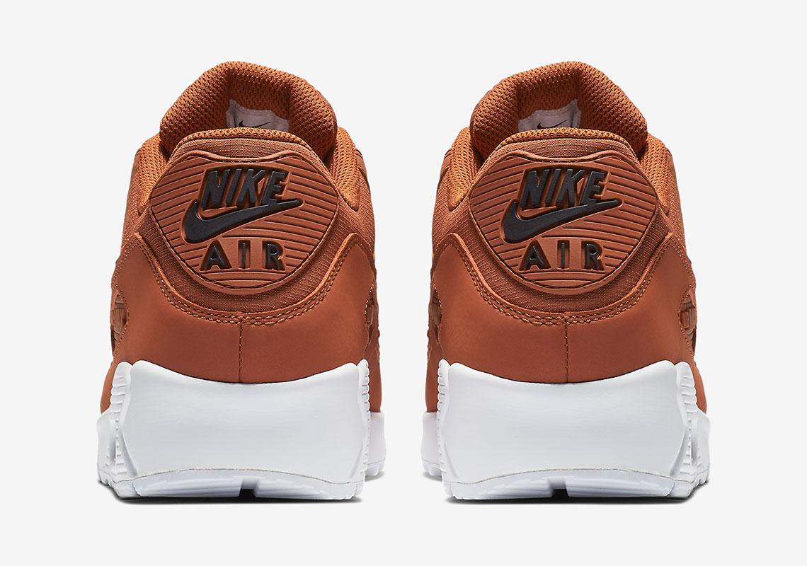 competitive price ce252 6ac75 Nike Air Max 90 Dark Russet AJ1285-203 Release Info   SneakerNews.com