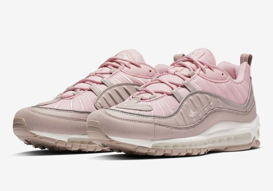 The Air Max 98 Arrives In A Colorful Triple Pink