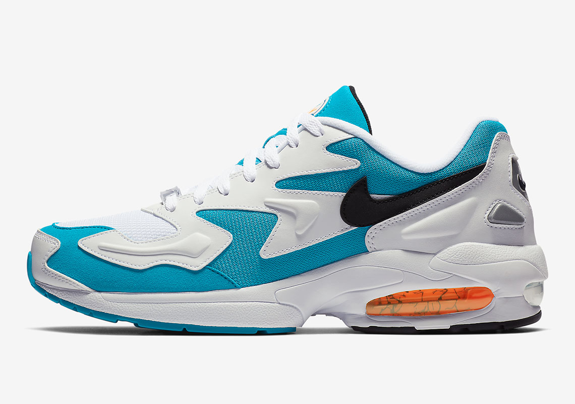nike air max 2 light dolphins ao1741 100 release info. Black Bedroom Furniture Sets. Home Design Ideas