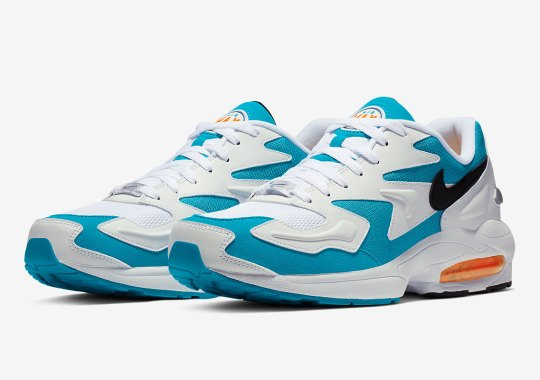 """Official Images Of The Nike Air Max 2 Light OG """"Dolphins"""""""