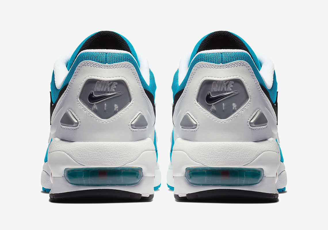 cac1a04a117 Nike Air Max 2 Light Dolphins AO1741-100 Release Info