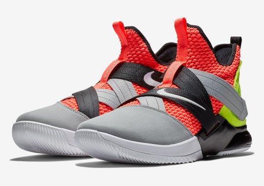 new arrival 28f9c 2246e The Nike LeBron Soldier 12 SFG Releases In An Acronym Presto Colorway