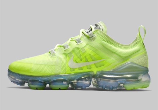 Nike's All New Vapormax 2019 Is Available In The Signature Volt