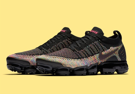 Classic Multi-Color Appears On The Nike Vapormax Flyknit 2