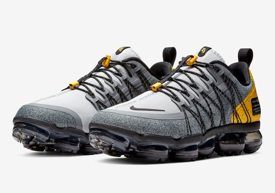 The Nike Vapormax Run Utility Arrives In Grey And Yellow