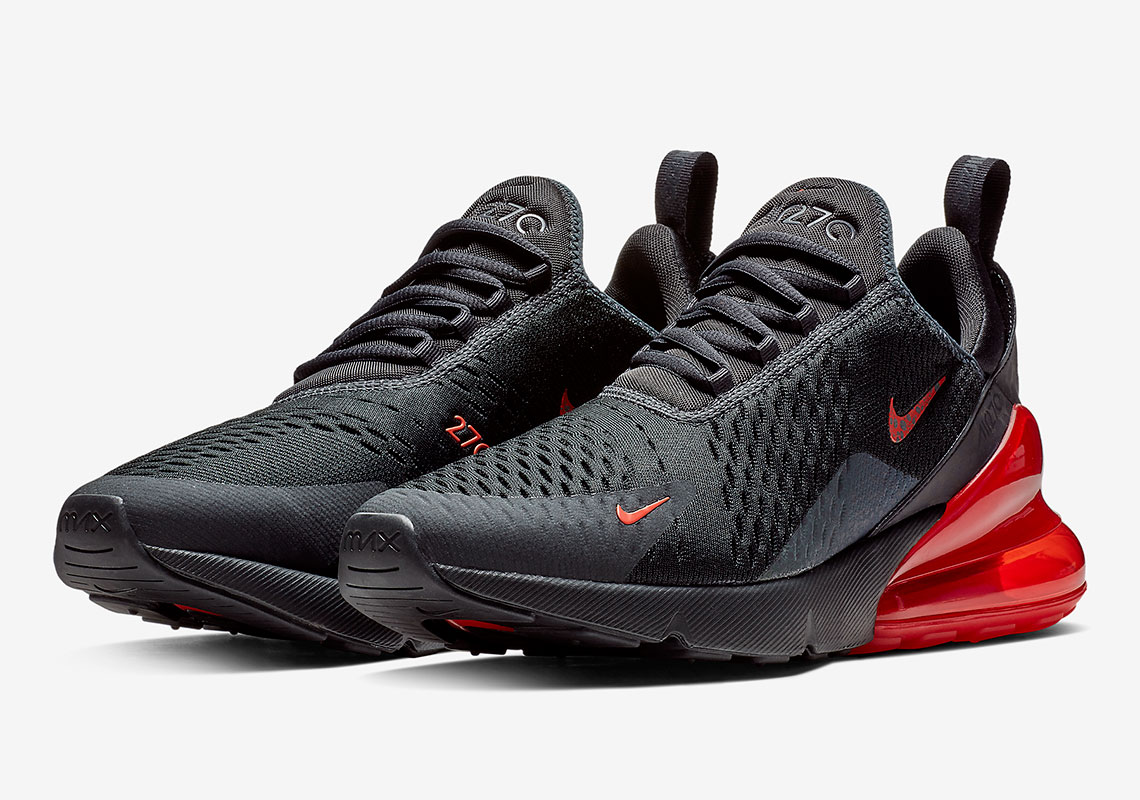 855cd7401d5a Nike Air Max 270 270 Black Red BQ6525-001 Where to Buy